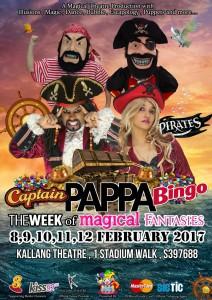 PIRATE PAPPA BINGO MAGICAL FANTASIES @ Kallang Theatre | Singapore | Singapore