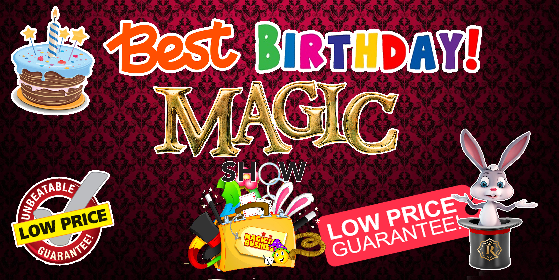 best birthday magic singapore