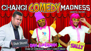 Changi Comedy Madness June 2017 @ Cedro Bar & Bistro