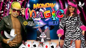 Magic Monday Blu - July 2017 @ Blu Jaz Cafe
